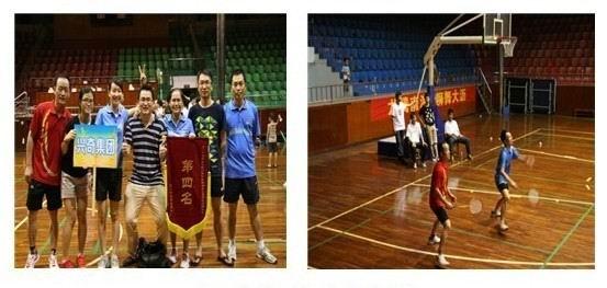 2012年吴川商会羽毛球赛